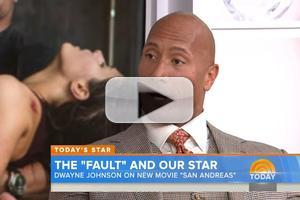 VIDEO: Dwayne Johnson Talks New Action Thriller 'San Andreas' on TODAY