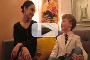 STAGE TUBE: Pint-Sized Critic Iain Armitage Chats with GIGI's Vanessa Hudgens