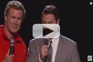 VIDEO: Nick Offerman and Will Ferrell Do Battle on Special Red Nose Day THE VOICE