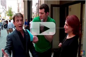 VIDEO: Martin Short & Billy Eichner Hit the Street for RED NOSE DAY