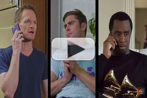 VIDEO: Watch Red Nose Day's Celebrity Phone Tree w/ NPH, Emily Blunt & More!