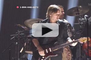 VIDEO: Keith Urban & John Mellencamp Perform 'Pink Houses' on RED NOSE DAY