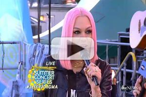 VIDEO: Jessie J Talks New Album, U.S. Tour on GMA
