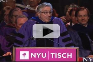 VIDEO: Robert De Niro Tells Students, 'You're F*cked'