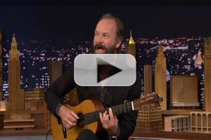 VIDEO: Sting Talks THE LAST SHIP and Serenades Jimmy Fallon on THE TONIGHT SHOW