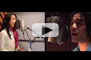 STAGE TUBE: ALADDIN's Adam Jacobs and Courtney Reed Record 'A Whole New World'!