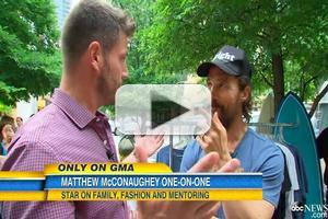 VIDEO: Alright, Alright! Matthew McConaughey Launches 'Just Keep Livin' Clothing Line