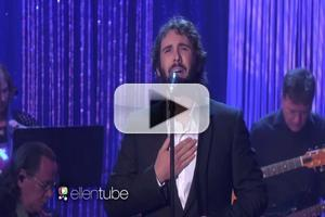 VIDEO: Josh Groban Performs CHORUS LINE Classic 'What I Did for Love' on 'Ellen'