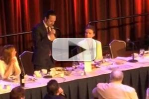 STAGE TUBE: Lin-Manuel Miranda Raps for Helen Mirren at the Drama League Awards!