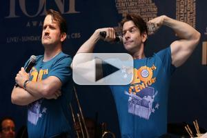 BWW TV: ON THE TWENTIETH CENTURY's Andy Karl & James Moye Face Off in the Alley!