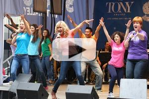 BWW TV: MAMMA MIA! Cast Discos into Shubert Alley!
