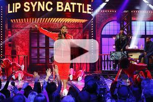 VIDEO: Watch Queen Latifah Take On Marlon Wayans on Last Night's LIP SYNC BATTLE