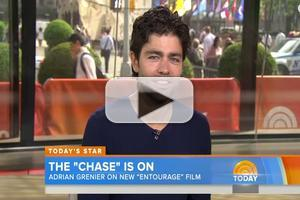 VIDEO: Adrian Grenier Talks New Film 'Entourage' on TODAY