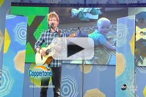 VIDEO: Ed Sheeran Rocks GMA Summer Concert Series With 'Thinking Out Loud' and More!