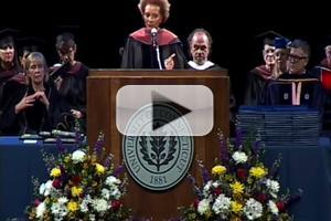 STAGE TUBE: See Dr. Leslie Uggams' Full Speech at UConn's Graduation