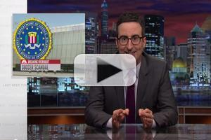 VIDEO: LAST WEEK WITH JOHN OLIVER Takes on FIFA Scandal & More