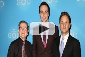 BWW TV: Hallelujah! Chatting with Jim Parsons and Company on Opening Night of AN ACT OF GOD!