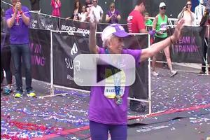STAGE TUBE: 92-Year-Old Two-Time Cancer Survivor Completes the San Diego Marathon