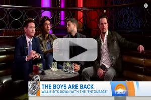 VIDEO: ENTOURAGE Cast Talks Adapting TV For Big Screen