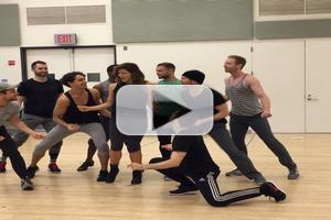 STAGE TUBE: Sneak Peek - Katharine McPhee and Company Rehearse for BOMBSHELL