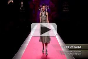 VIDEO: FRANCIS MONTESINOS Mercedes Benz Fashion Week Madrid A/W 2015