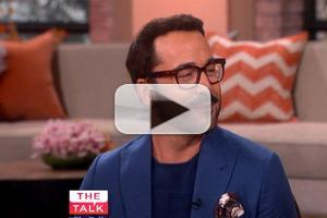 VIDEO: Jeremy Piven Chats Raging 'Entourage' Fits & More on THE TALK