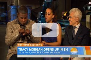 VIDEO: Tracy Morgan Makes Emotional Return To 'SNL' Studio