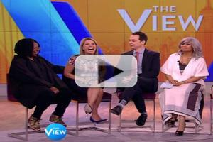 STAGE TUBE: Jim Parsons Opens Up About Returning to Broadway in AN ACT OF GOD on THE VIEW