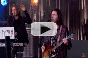 VIDEO: Hozier Performs 'Someone New' & 'Work Song' on KIMMEL