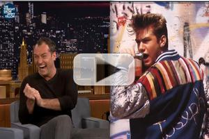 VIDEO: Jude Law Reveals Musical Theater Background; Ponders 'Cold Mountain: The Musical'