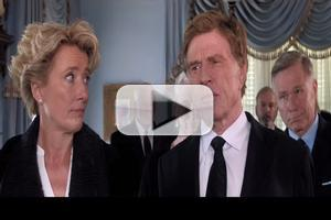 VIDEO: First Look - Robert Redford, Emma Thompson Star in A WALK IN THE WOODS