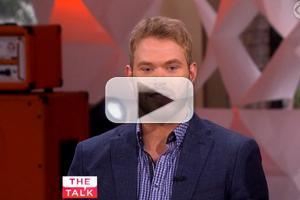 VIDEO: Kellan Lutz Talks 'Bullseye' & Wigs Out on THE TALK