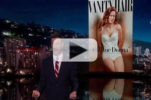 VIDEO: Caitlyn Jenner Gags Abound on ABC's JIMMY KIMMEL