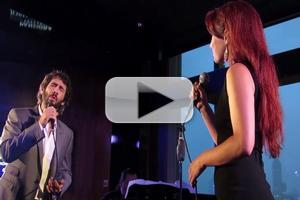 STAGE TUBE: A Phantastic Pairing- Josh Groban & Sierra Boggess Duet on 'All I Ask of You'!