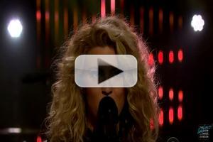 VIDEO: Tori Kelly Performs 'Should've Been Us' on JAMES CORDEN