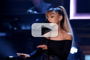 VIDEO: Ariana Grande & Jason Robert Brown Perform 'Jason's Song' on TONIGHT SHOW
