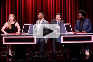 VIDEO: Michael Strahan and Bryce Dallas Howard Play Pyramid on TONIGHT