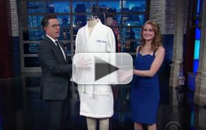 VIDEO: Stephen Colbert Presents President Trump With Robe Force Once