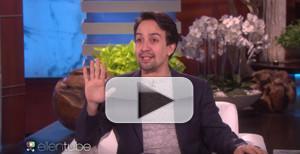 VIDEO: Lin-Manuel Miranda Talks 'Mary Poppins', Oscar Nom & More on ELLEN