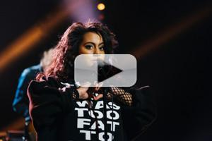 VIDEO: Bibi Bourelly Performs 'Ballin' on LATE LATE SHOW