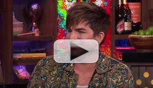 VIDEO: Adam Lambert Stops By WATCH WHAT HAPPENS LIVE; Randy Rainbow Tends Bar!