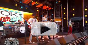 Video Mashup:  The OK Go-Go's Perform 'Our Lips Are Sealed' & More on Jimmy Kimmel
