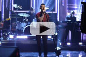 VIDEO: Adam Levine Talks 'The Voice'; Performs New Song 'Cold' on TONIGHT