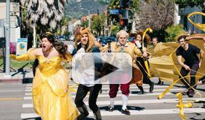 VIDEO: Luke Evans, Dan Stevens & Josh Gad Join James Corden for 'Crosswalk the Musical: BEAUTY AND THE BEAST'