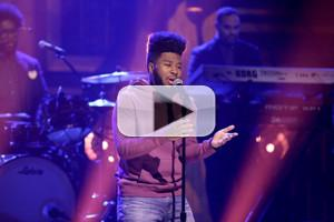 VIDEO: Khalid Makes TV Debut Performing 'Location' on TONIGHT SHOW