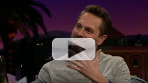 VIDEO: Thomas Sadoski Reveals Secret Marriage to Amanda Seyfried on JAMES CORDEN