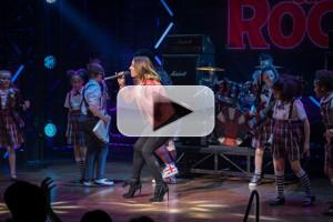 VIDEO: Mel C Joins Cast of West End SCHOOL OF ROCK for Performance of 'Wannabe'