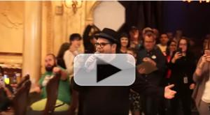VIDEO: Josh Gad Surprises Guests at 'Be Our Guest' Restaurant at Magic Kingdom
