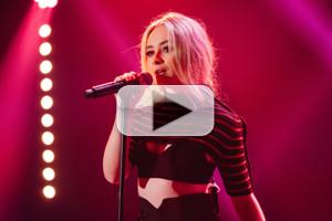 VIDEO: Sabrina Carpenter Performs 'Thumbs' on LATE LATE SHOW