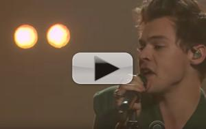 VIDEO: Harry Styles Performs New Song 'Kiwi' on LATE LATE SHOW